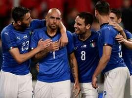 Simone Zaza pourrait retourner à Sassuolo. AFP