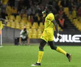 Deuxième victoire d'affilée pour Nantes face à Montpellier. AFP