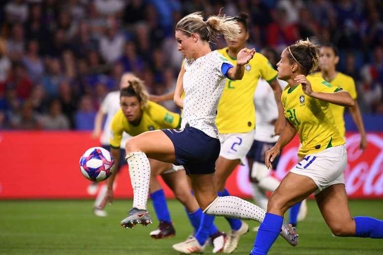 France-Brésil, un air de déjà-vu. AFP
