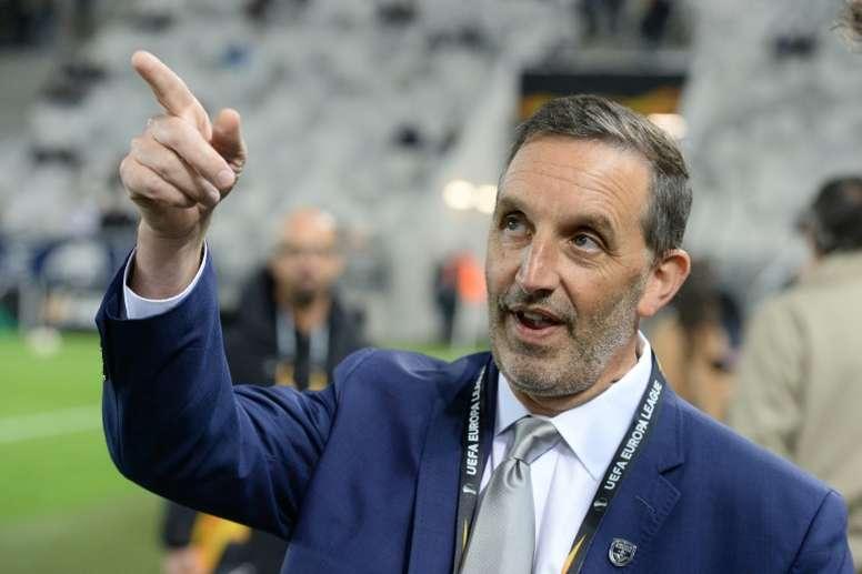 Dagrosa est fâché contre ses joueurs. AFP