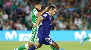 Le Betis s'est incliné face à Valladolid. AFP