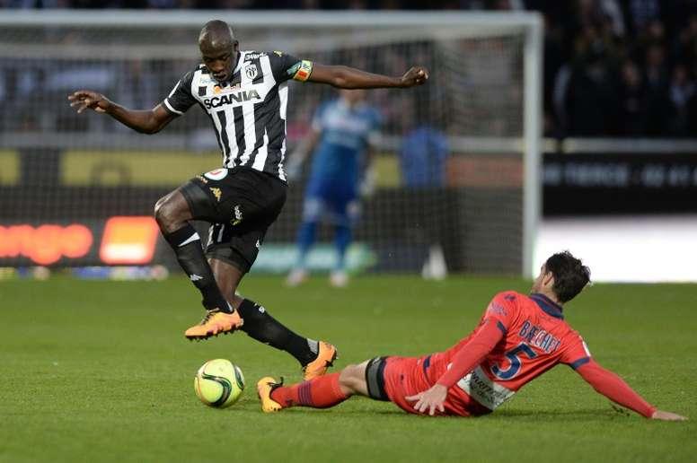 Bréchet continuará una temporada más en el Ajaccio. AFP