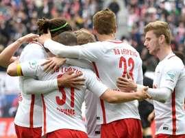 Le RB Leipzig veut poursuivre sur sa bonne lancée en recrutant des joueurs talentueux. AFP