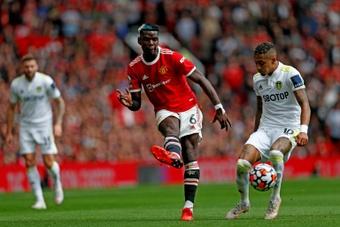 Cristiano faz Pogba repensar a sua saída do United. AFP