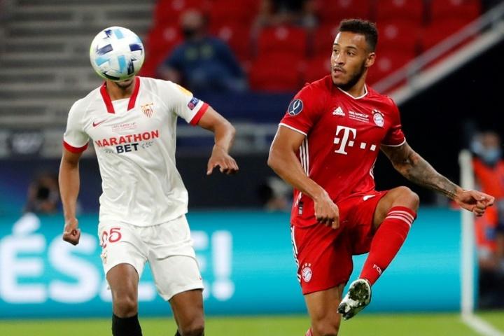 O Bayern não sabe o que fazer com Tolisso. AFP