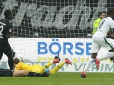 Denis Zakaria buteur lors du match nul. AFP