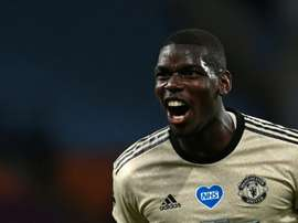 Pogba heureux d'aider Manchester United. AFP