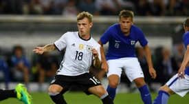Meyer sabe lo que es jugar con la Selección Absoluta de su país, Alemania. AFP