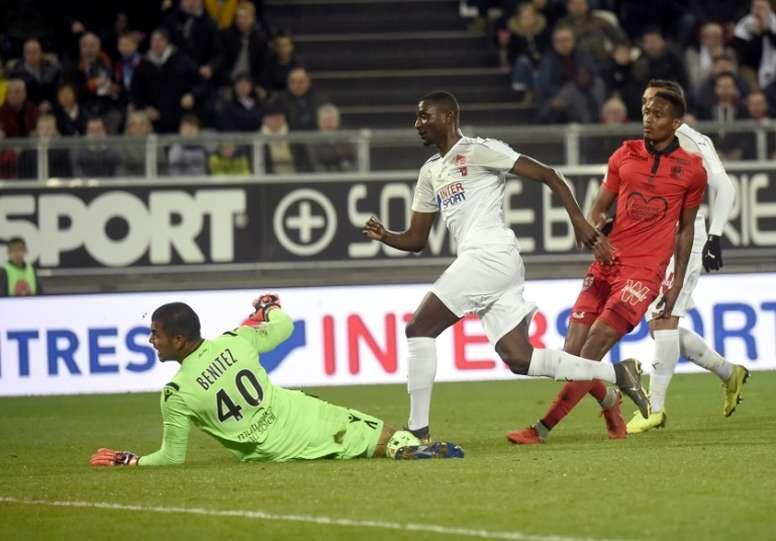 Les compos officielles du match de Ligue 1 entre Dijon et Amiens. AFP
