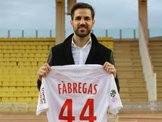 Fabregas se livre. AFP