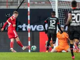 Allemagne: l'Union Berlin bat Leverkusen et entre dans le carré de tête. AFP