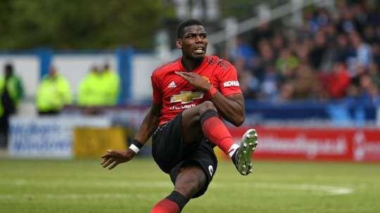 Pogba is reportedly a target for Real this summer. AFP
