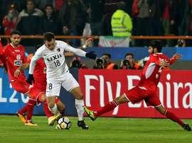 Kashima ira en Coupe du monde des clubs. AFP