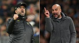 Old Trafford, ceu e inferno para Jürgen Klopp. AFP
