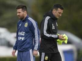 El rumor que colocaba a todo Tigre en la Selección Argentina. AFP