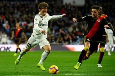 Real Luka Modric. AFP