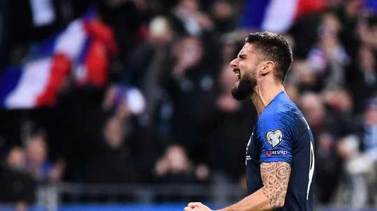 Olivier Giroud de Chelsea à la Chine ? AFP