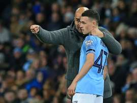 Foden has been playing less in recent matches. AFP