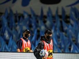 Coronavirus: premier report d'un match de foot au Japon depuis la reprise. AFP