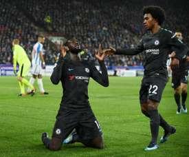 Chelsea vence fora. AFP