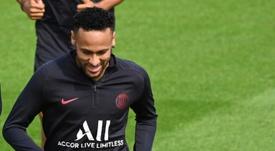 Neymar, más cerca ahora del Barça que del Madrid. AFP/Archivo