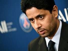 Le patron du PSG va porter plainte. AFP
