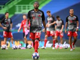 Alaba has still not decided where he will go to. AFP