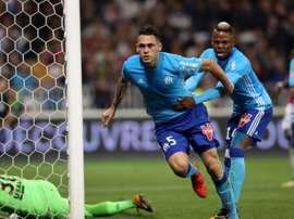 Marseille retrouve la troisième marche du podium. AFP