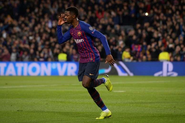 Dembélé eliminó Barcelona en sus redes sociales, AFO¡P
