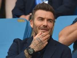 Beckham veut laisser une trace. AFP