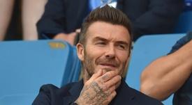 David Beckham veut David Silva. AFP