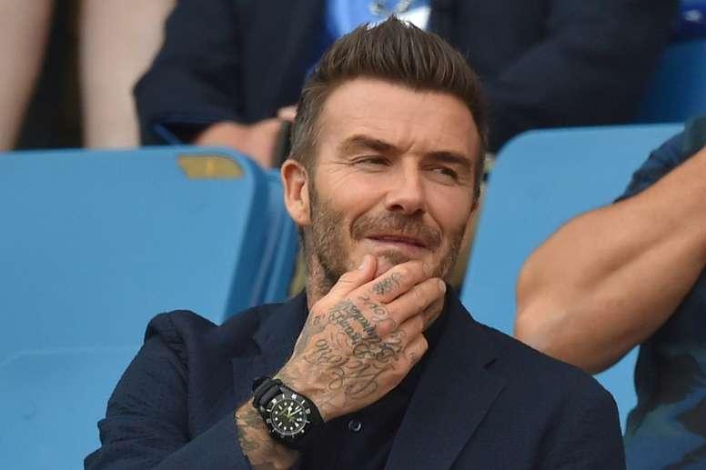 El Inter Miami de Beckham está a punto de echar a andar. AFP
