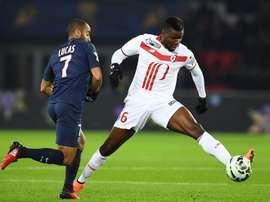 Amadou était le capitaine du LOSC la saison dernière. AFP