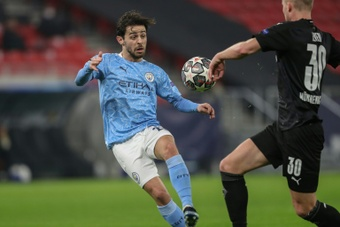 Bernardo Silva appears to be on his way out of Manchester City. AFP