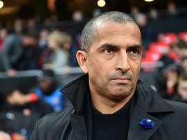 Sabri Lamouchi nommé à la tête de Nottingham Forest. AFP