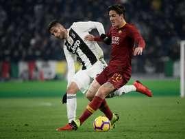 Déclaration d'amour éternel de Bentancur à la Juventus. AFP