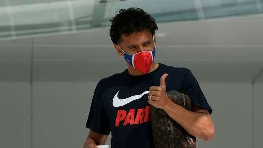 300 matches pour le capitaine Marquinhos. afp