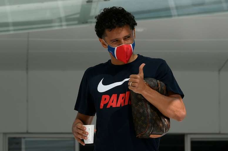 Marquinhos in doubt against United. AFP