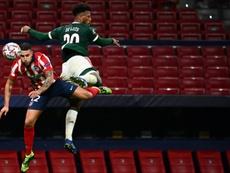 L'Atlético s'embourbe contre le Lokomotiv Moscou. AFP
