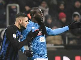Koulibaly could be the wanted replacement if Ramos were to leave. AFP