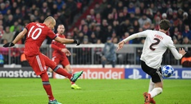 Robben es famoso por sus continuas lesiones. AFP
