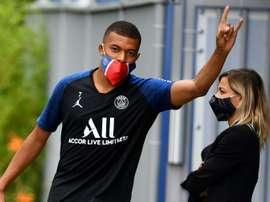 Le groupe du PSG pour sa reprise contre Le Havre. AFP