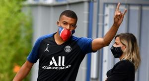 Le PSG fait son grand retour au Havre, le public aussi. AFP
