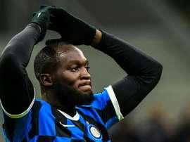 Inter aren't happy with Lukaku. AFP