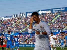 Ronaldo a sauvé le Real. AFP