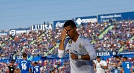 Ronaldo foi o autor do segundo tento 'merengue'. AFP