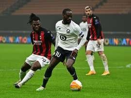 Il Milan pareggia contro il Lille. AFP