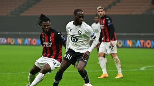 Les compos probables du match de Ligue Europa entre Lille et Milan. afp