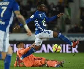 Les compos probables du match de Ligue 1 entre Nìmes et Strasbourg. AFP