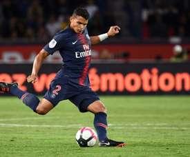 Thiago Silva ha parlato della situazione complicata di Rabiot. AFP